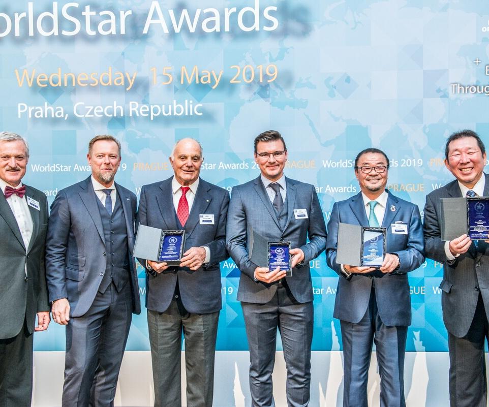 XTREME Renew, sistema desarrollado por Erema, SIPA, Kyoei Industry y Suntory fue reconocido con el premio World Star Packaging.