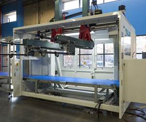 Sistema de automatización y robot integrado M-Line, de Muller Technology Colorado.
