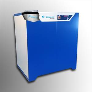 Deshumidificador de moldes DMS (Dry Mould System), de Blue Air Systems.