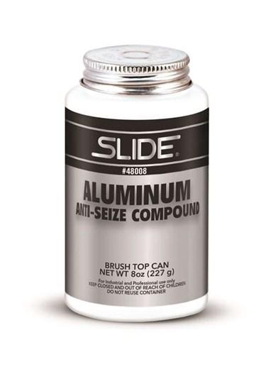 Compuesto antiadherente de aluminio, de Slide.