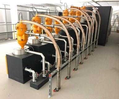 Sistema de secado de KOCH-Technik.