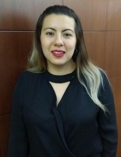 Araceli, encargada del cumplimiento de la norma ISO 9001-2015.