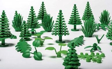 Bloques de bioplástico de Lego.