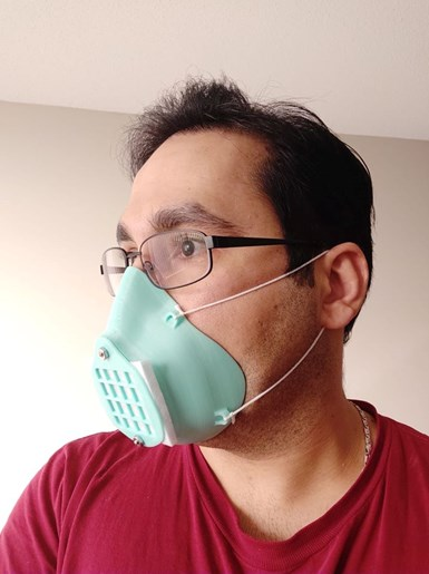 Componentes impresos en 3D para combatir el coronavirus. Fuente:Open Source COVID19 Medical Supplies.