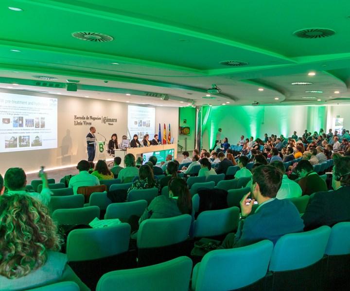 Seminario Internacional de Biopolímeros y Composites Sosteniblesde AIMPLAS.