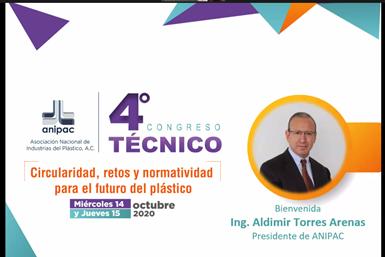 El ingeniero Aldimir Torres, presidente de la ANIPAC, abrió el 4to Congreso Técnico de este organismo.