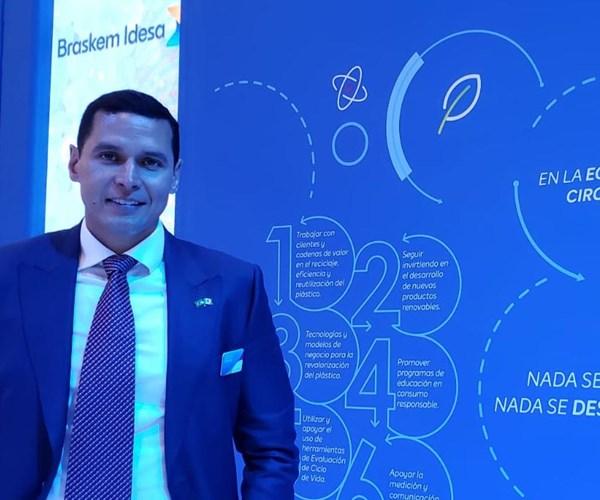 Alfredo Prince, director comercial de Braskem Idesa.