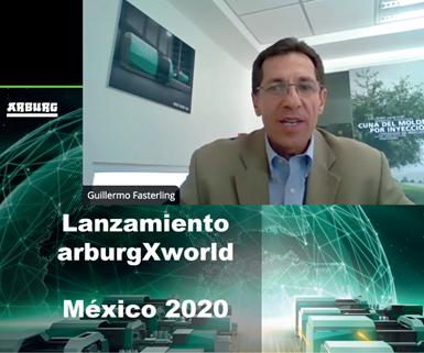 El pasado 18 de junio, Arburg realizó la presentación oficial en México de su plataforma digital ArburgXWorld.