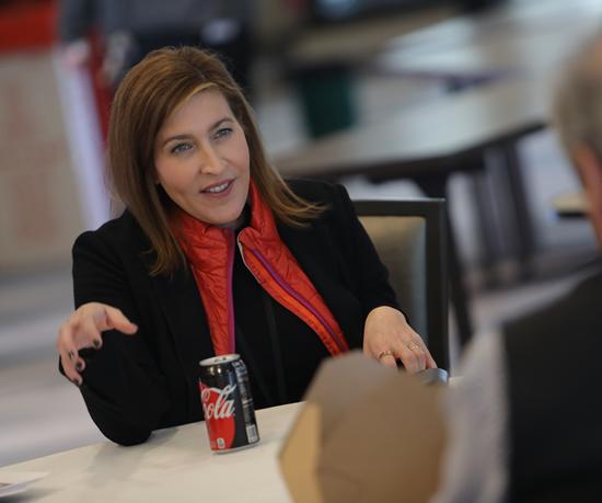 Bea Pérez, vicepresidenta senior de Sostenibilidad y Asuntos Públicos de The Coca-Cola Company.