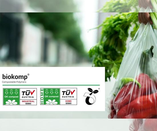 La gama de resinas Biokomp, de Kompuestos,está basada en resinas biodegradables hechas de diferentes almidones.