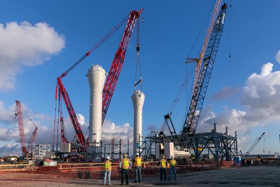 La construcciónde la nueva línea de Braskem en Texascomenzó en octubre de 2017 y la fase final de construcción mecánica se completó en junio de 2020.