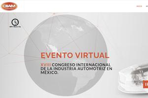 Congreso Internacional de la Industria Automotriz en México (CIIAM) 2020.