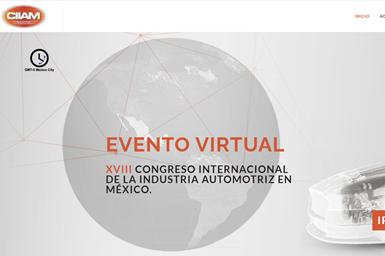 Congreso Internacional de la Industria Automotriz en México (CIIAM) 2020