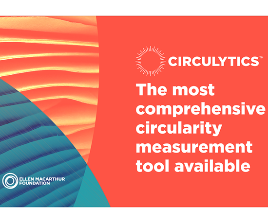 Circulytics mide la circularidad completa de una empresa, no solo los productoso los flujos de materiales.