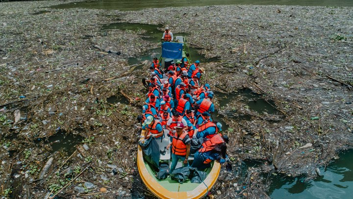 En el marco de la 52ª edición de la Convención Anual de ANIPAC, Braskem Idesa lideró una jornada de limpieza en el Cañón del Sumidero, en Chiapas,