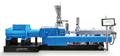 Las extrusoras de doble tornillo ZSK de Coperion son ideales para el proceso Newcyclin,de APK,debido a su alta dispersión y rendimiento de desgasificación.