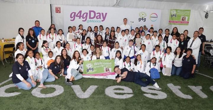Participantes del evento g4g Day @México.