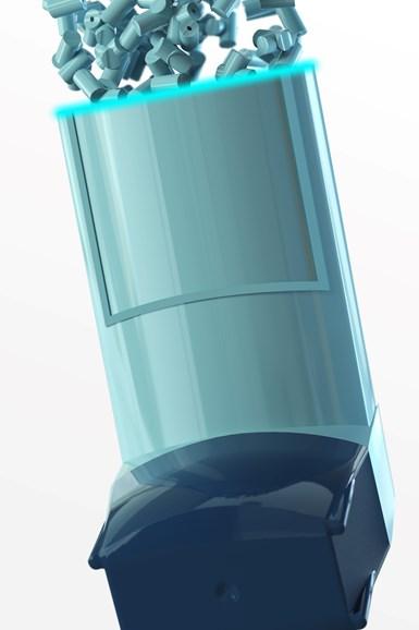 Los plásticos utilizados en productos sanitarios, como este inhalador, cumplen con los estrictos estándares de calidad y rendimiento y también pasan pruebas de biocompatibilidad y biotoxicidad.