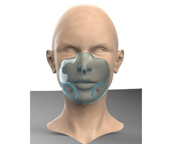 Es una mascarilla incluyenteque por su diseño transparente permite la lectura de labios.