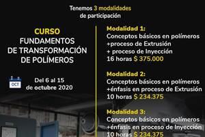 Curso Instituto de Capacitación e Investigación del Plástico y el Caucho (ICIPC).