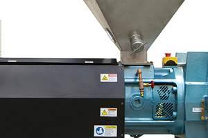 Cuanto antes se pueda comenzar a fundir, más eficiente será todo el proceso, ya que esencialmente alarga la longitud efectiva del tornillo. (Foto: Davis- Standard).