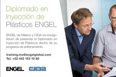 Diplomado en Inyección de Plásticos, de ENGEL y el CIQA.