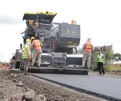 Dow informó que actualmentehay 5 km de vías construidas con plástico recicladoen diversos proyectos en el país.