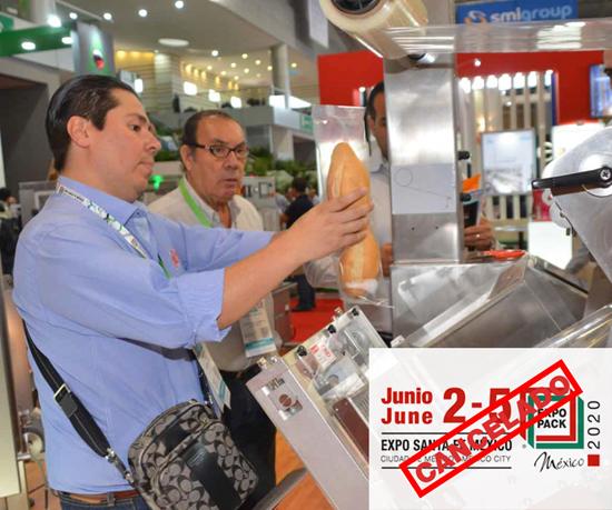 Cancelan Expo Pack México 2020.
