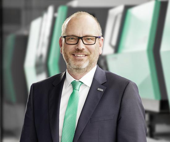 Guido Frohnhaus, nuevo director de tecnología e ingeniería en Arburg.