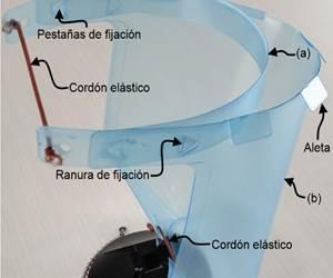 El diseñode esta mascarillaproporcionaprotección completa para ayudar a reducir las infecciones por COVID-19 en profesionales de la salud. Foto: Eastman.