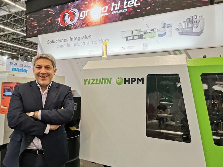 Luciano Diorio, gerente general de Grupi Hi-Tec.