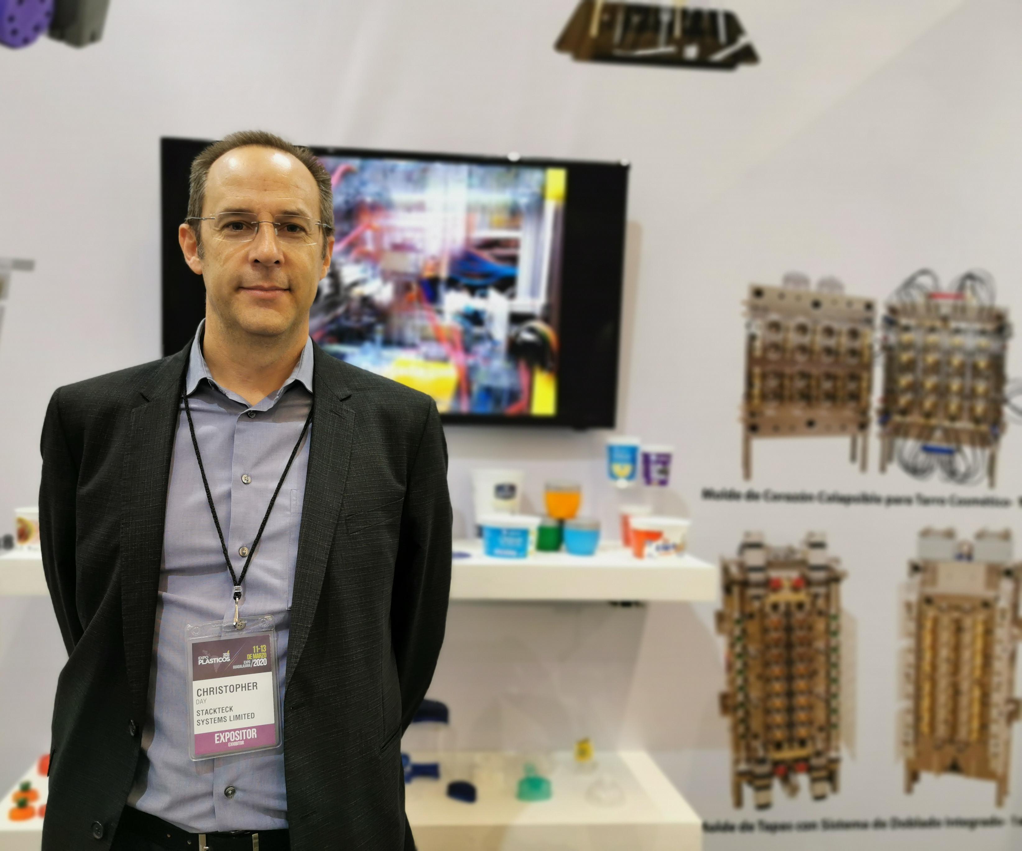 Christopher Day, Gerente de negocios para México y América Latina de StackTeck.
