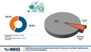impacto del COVID-19 en la actividad económica y el mercado laboral de México