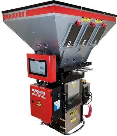 Sistema de control de procesos de extrusión, Maguire + Syncro.
