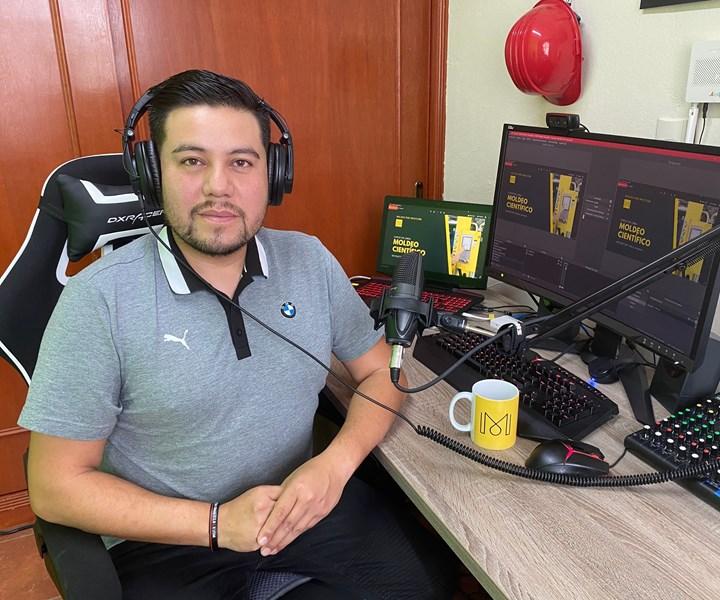 Marco Zavaleta es uno de los socios fundadores de la compañíaMoldeo por Inyección.