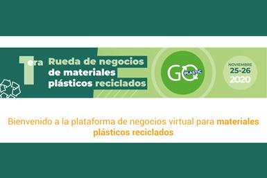 La rueda de negocios de Goplastic, se realizará el 25 y 26 de noviembre de 2020,.