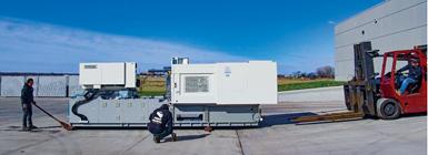Ponga un plan de acción para asegurarse de que la instalación de su máquina sea lo más sencilla posible. Foto: Garner Industries