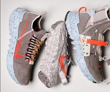 Colección Space Hippi, de Nike, hecha con materiales reciclados.