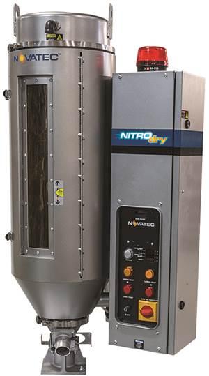 Secador de nitrógeno autocontenido, de Novatec
