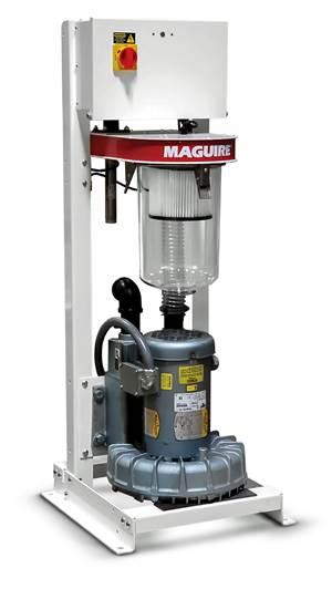 Bomba de vacío simplifica el transporte de materias primas a mezcladores, secadores o tolvas