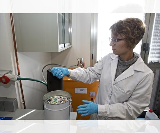 Andrea Cabanes Gil, doctorante de Ingeniería Química de la Universidad de Alicante.