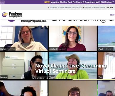 Página web de Paulson Training.