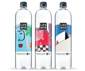 El agua embotellada Lifewatr, de PepsiCo, será envasada en botellas con 100% PET reciclado para finales de 2020.