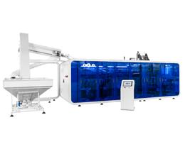 Gracias a la tecnología ofrecida por PET Technologies, se pueden fabricar botellas de entre 200 ml y 40 L y pueden elegirse máquinas de moldeo por soplado de acuerdo con la demanda actual