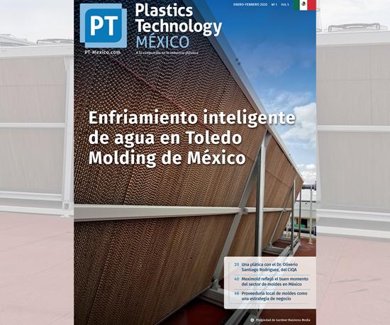 Portada edición Enero-Febrero 2020 de Plastics Technology México.