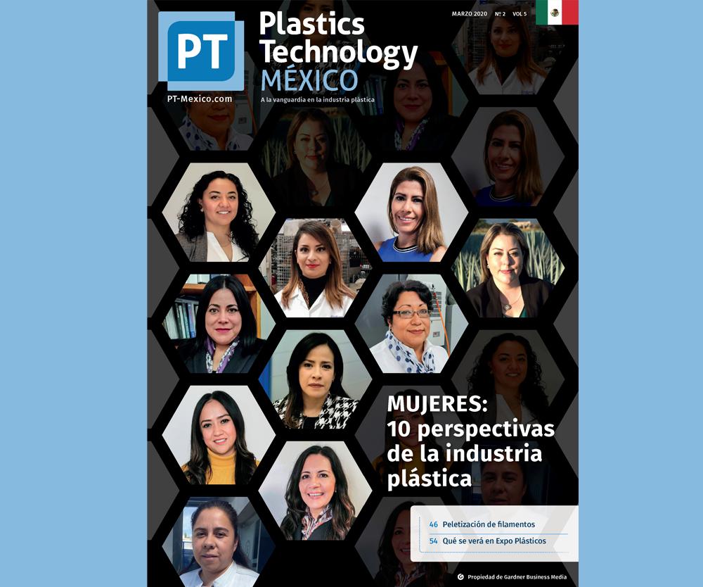 Portada edición Marzo - Plastics Technology México.