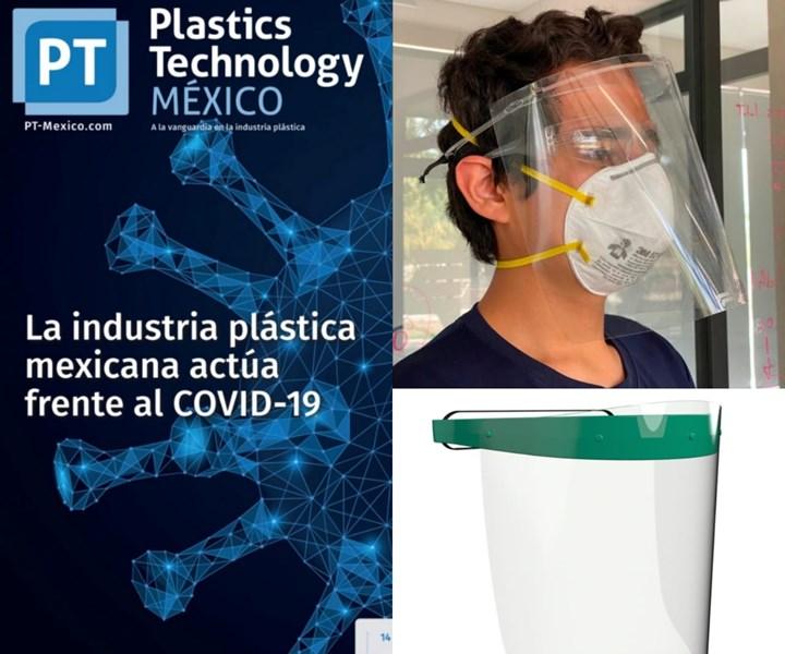 La edición de mayo está dedicada a mostrar los aportes de los materiales plásticos en la contingencia del COVID-19.