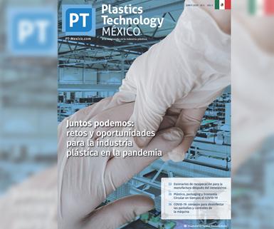 Portada edición junio de Plastics Technology México.