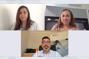 De izquierda a derecha: Natalia Ortega, directora editorial de Plastics Technology México; Daniela Calderón, directora general de Hasco de México;y José Silva, vicepresidente ejecutivo de desarrollo de negocios de Hasco global.