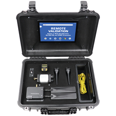 Kit de validación remota de moldes, de Progressive Components.